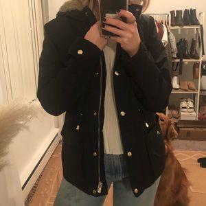 Topshop Fur Coat